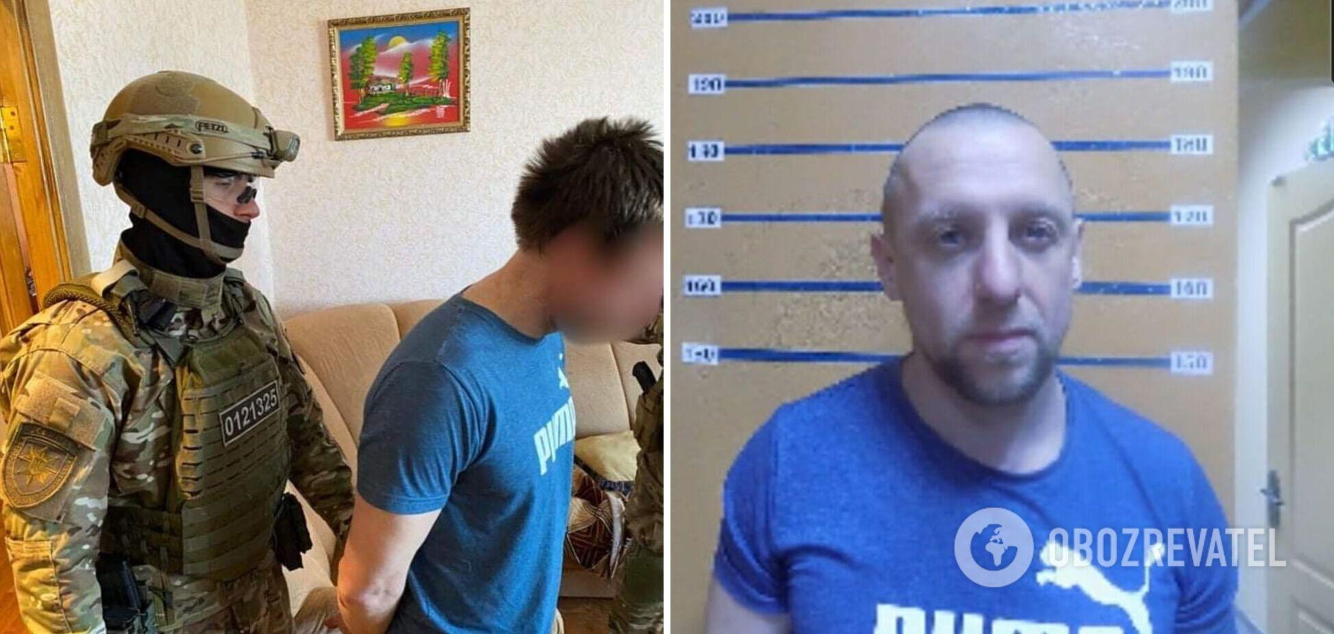 На Луганщині спіймали водія мопеда, який кинув гранату в поліцейських
