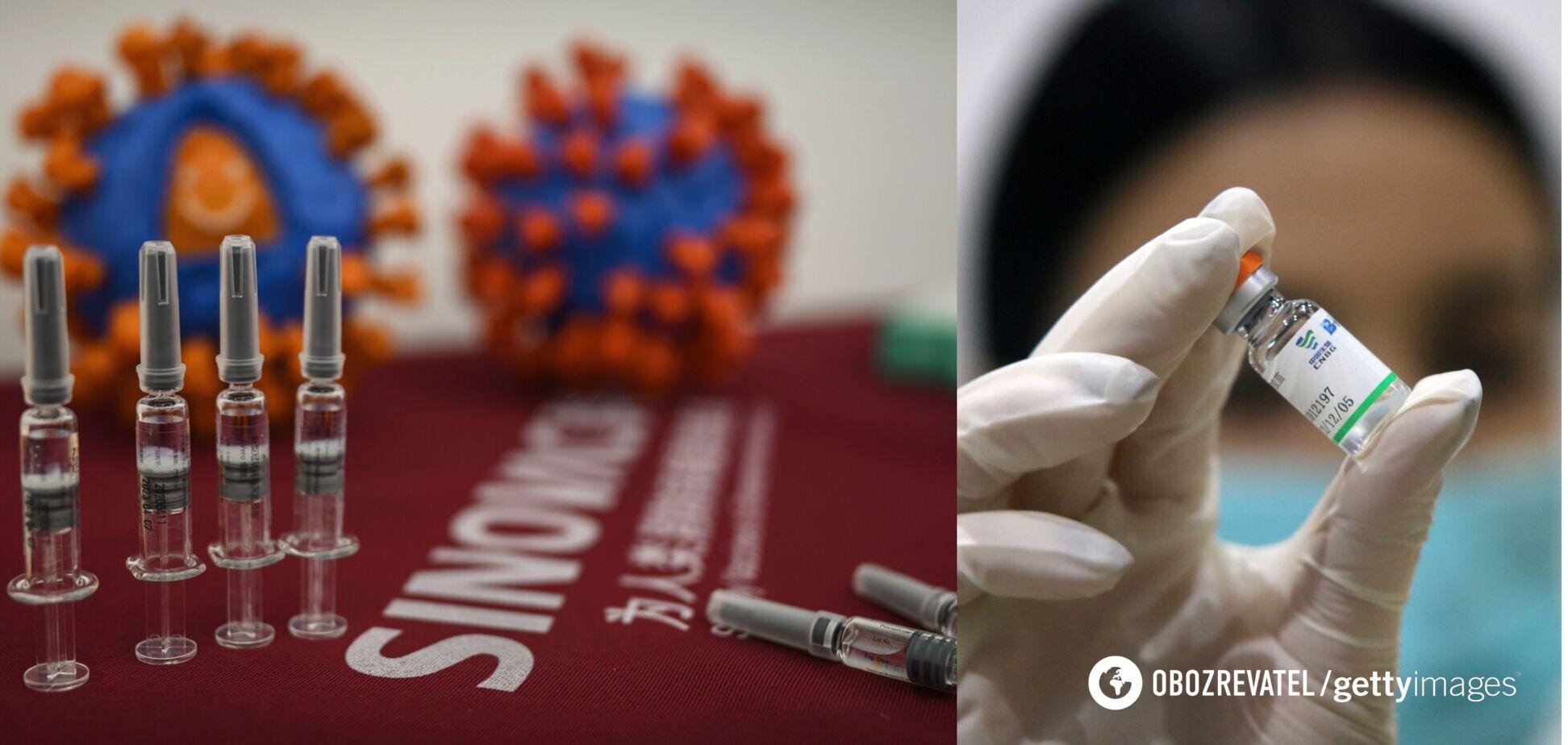 В ВОЗ подтвердили эффективность китайских вакцин против COVID-19