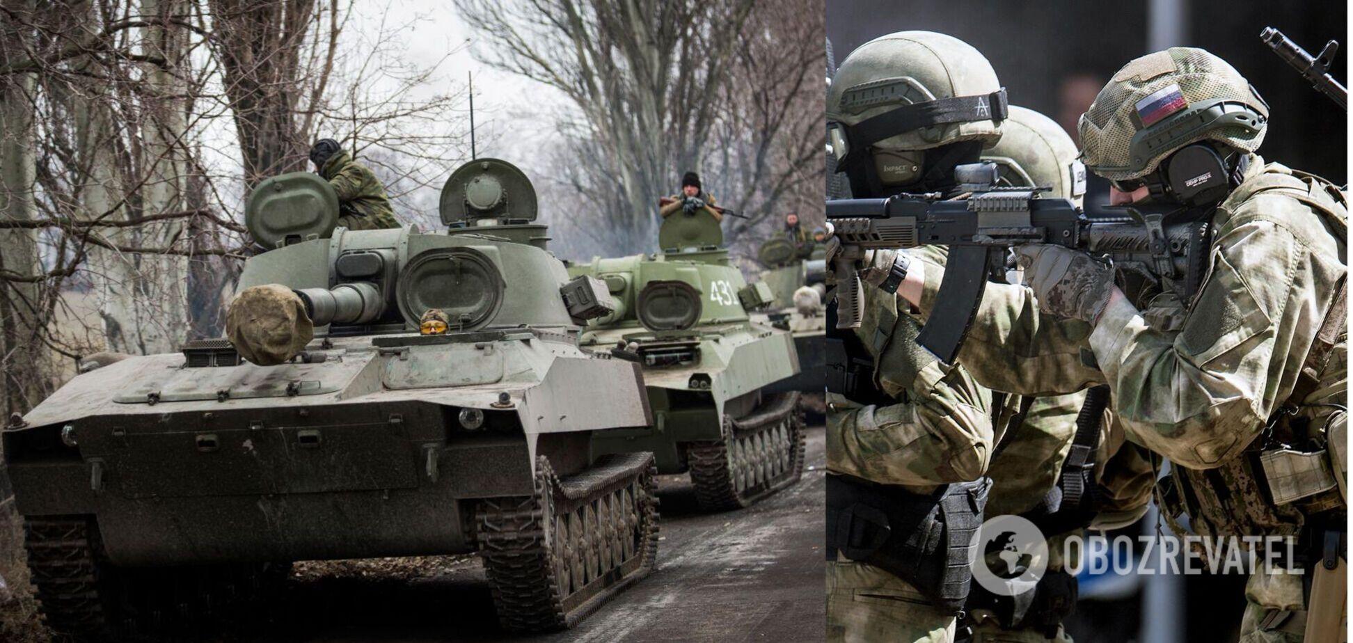 Планируется расширение российского военного присутствия на Донбассе