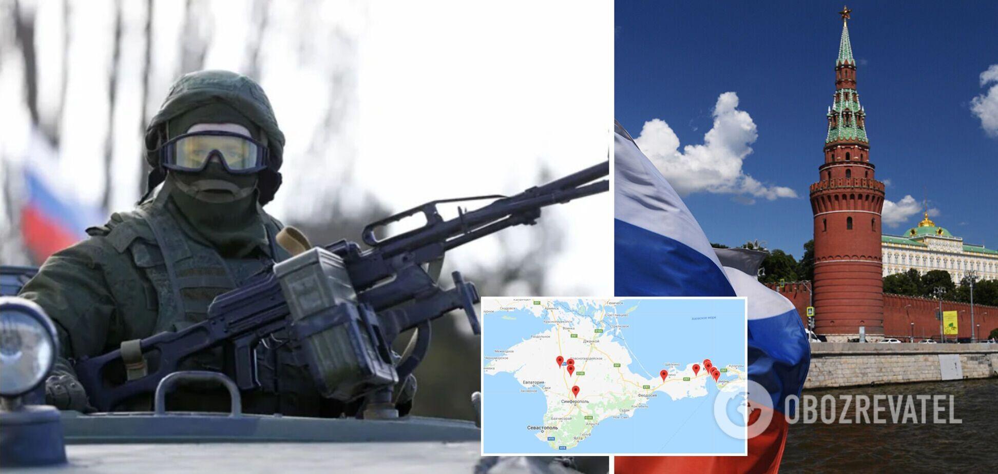 У Путина выдали, что скопление войск у границ Украины 'не должно никого беспокоить'