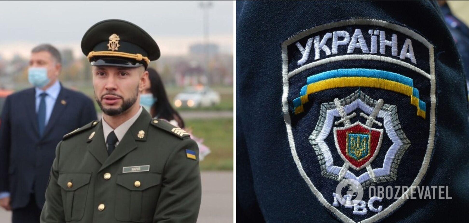 МВД показало фильм о Виталии Маркиве