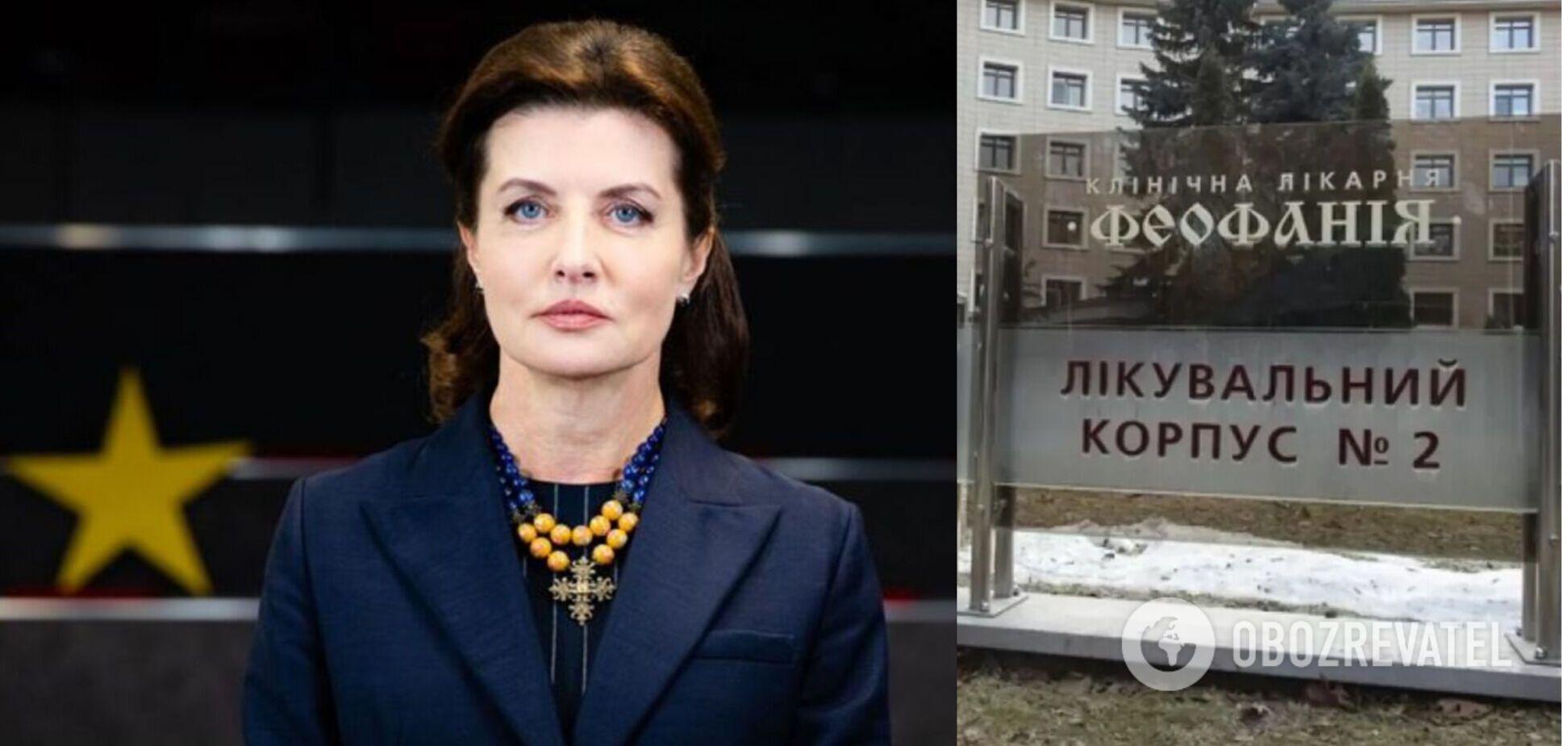 Марина Порошенко назвала способ разгрузки медсистемы в Киеве