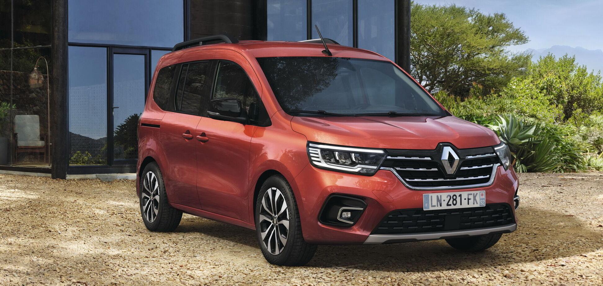 Renault презентовала пассажирский Kangoo