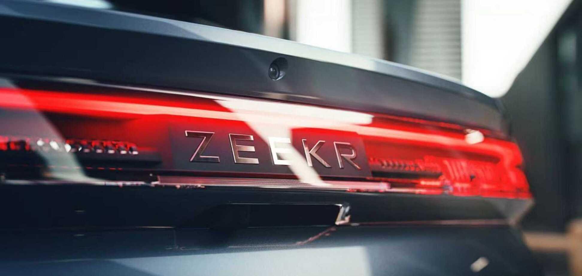 Geely представила новый электрический бренд Zeekr