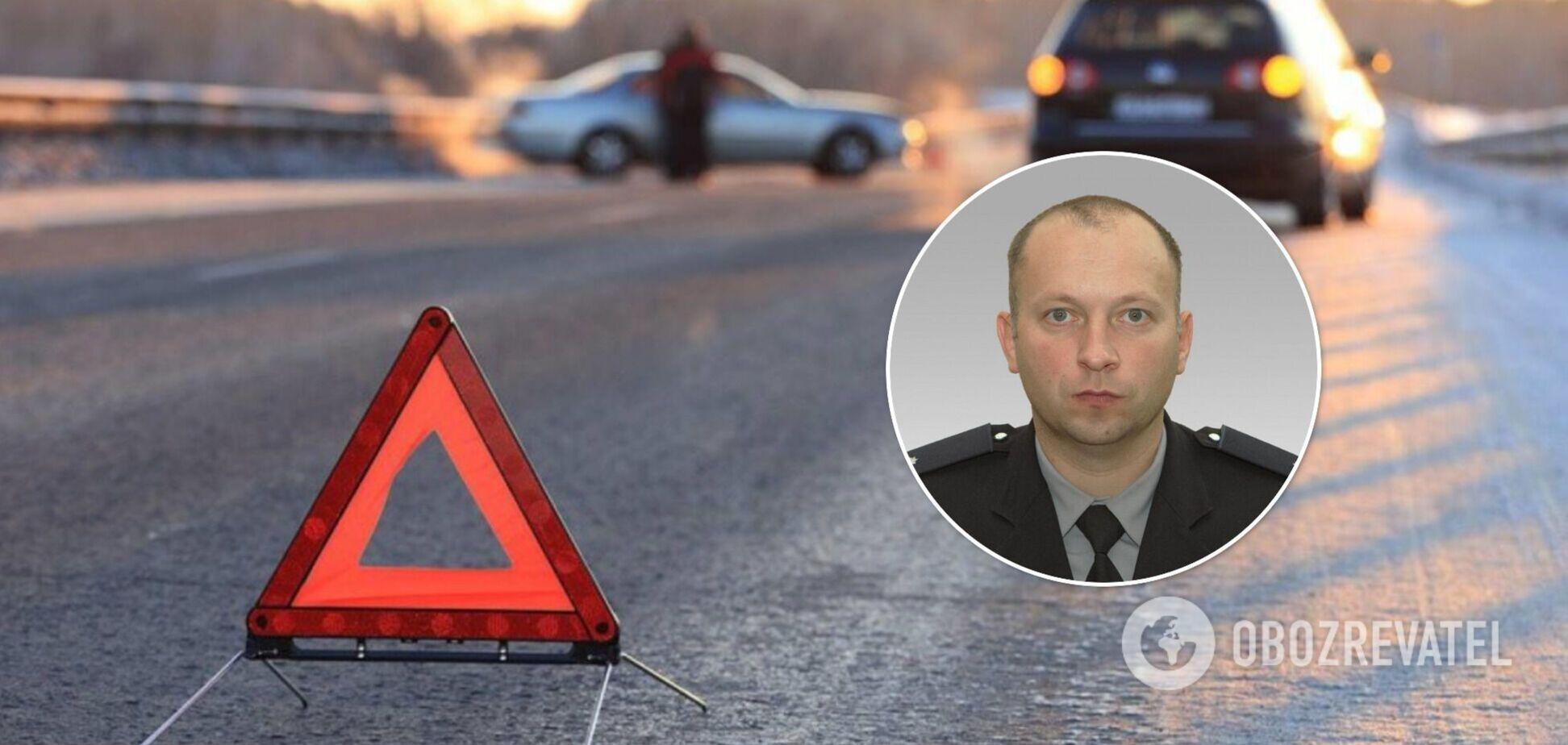 Названо имя полицейского, которого насмерть сбили в Харькове. Фото