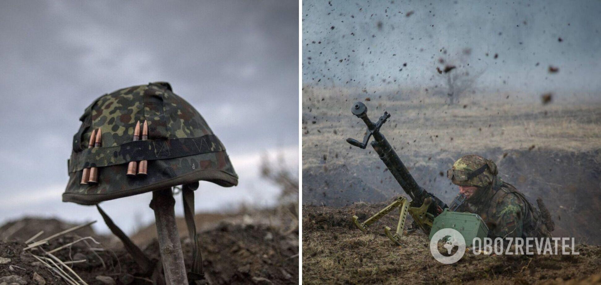 На Донбассе наемники РФ обстреляли позиции ВСУ и ранили защитника Украины