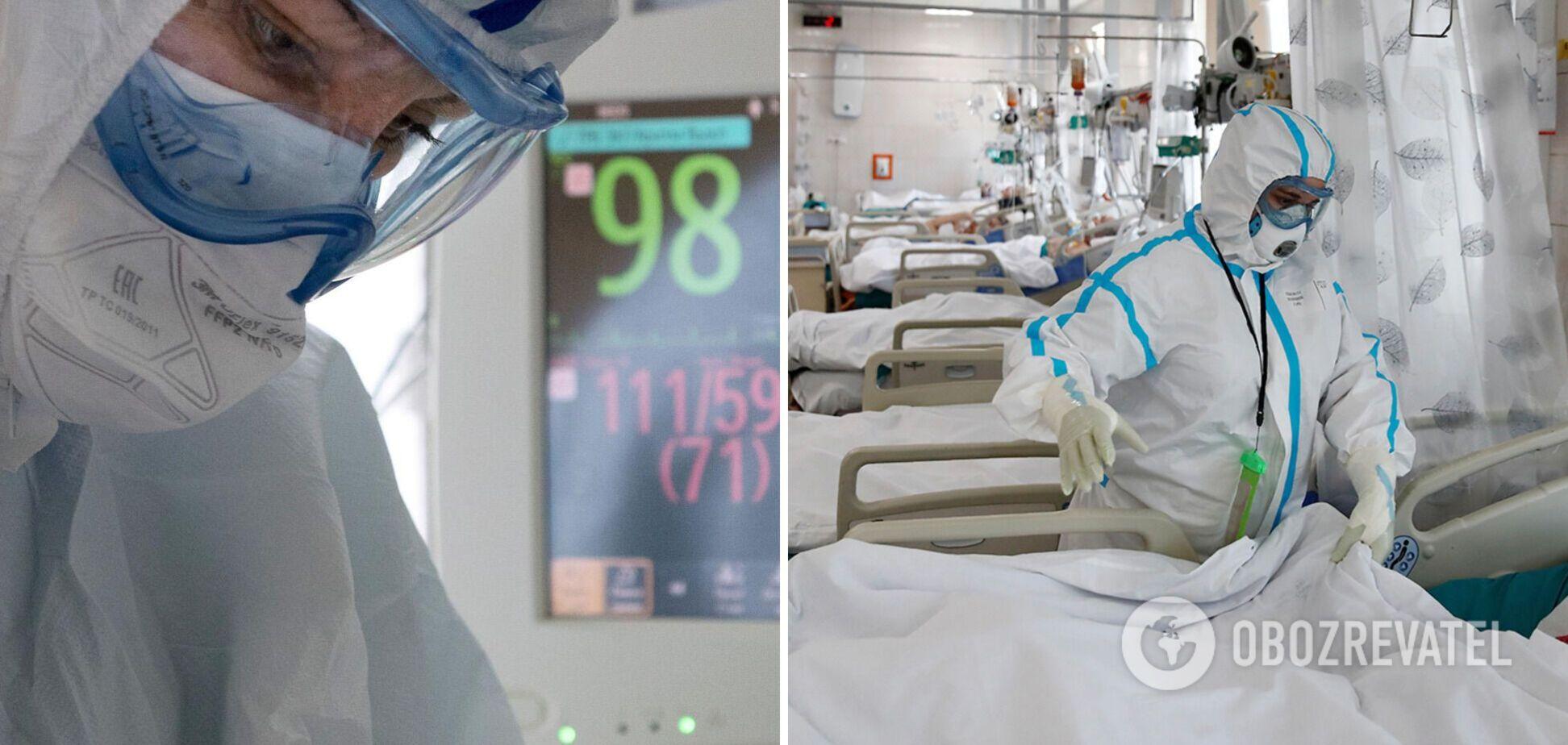В Украине растет число занятых коек для пациентов с COVID-19: где самая сложная ситуация