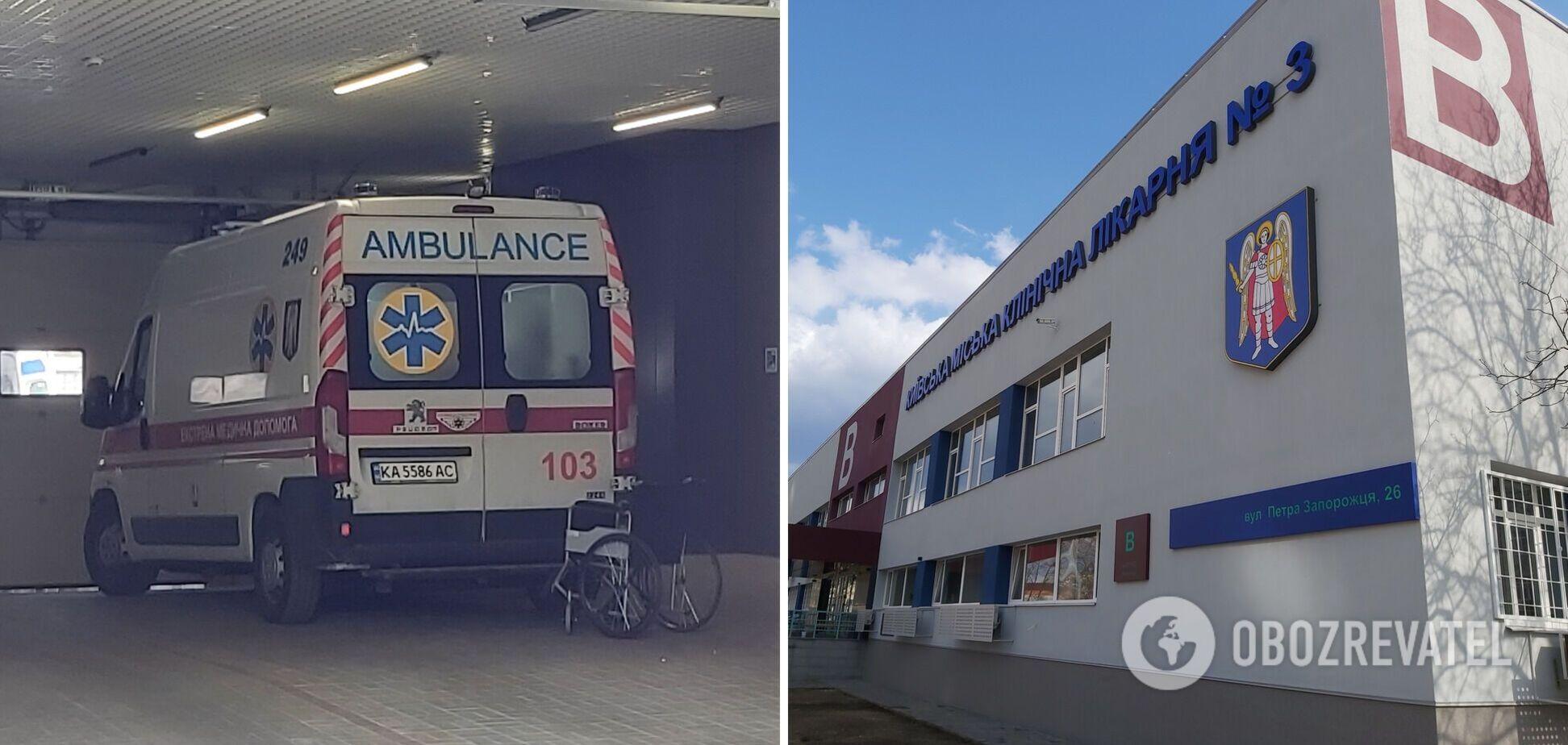 У Києві COVID-лікарня заповнена майже на 100%: швидкі приїжджають кожні 15 хвилин