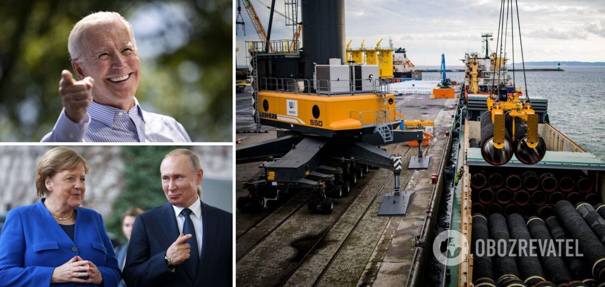 США готовят новые санкции, строительство 'Северного потока-2' может остановиться
