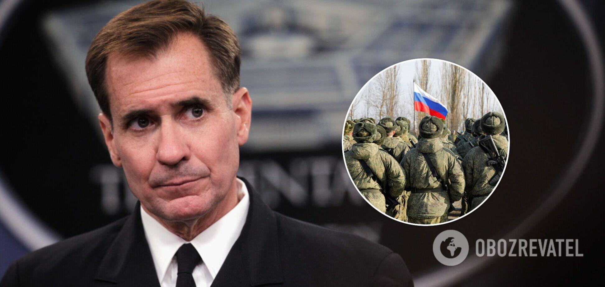 Пентагон зажадав від Росії пояснень через нарощування військ на кордоні з Україною