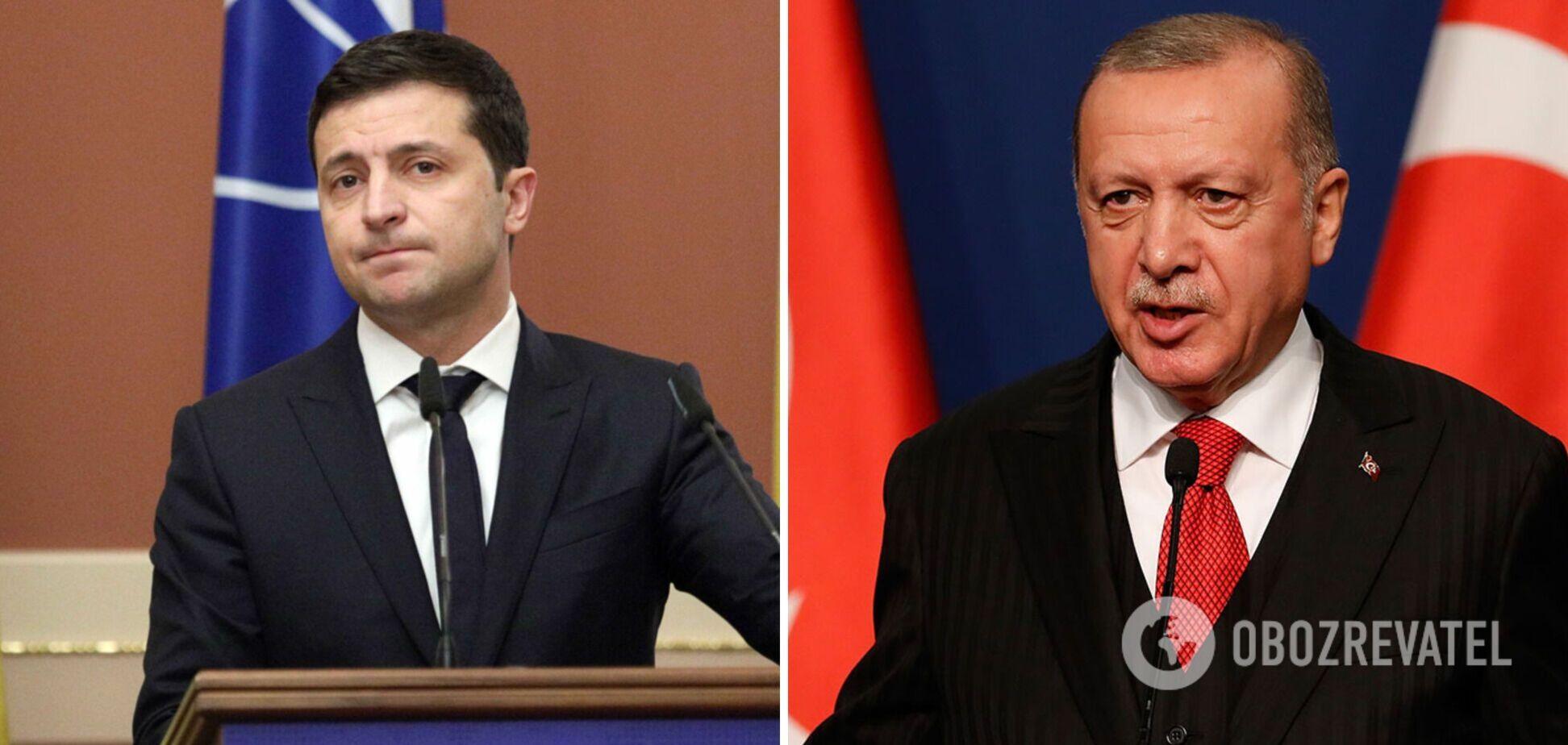Зеленский с Эрдоганом обсудили Крым и обострение на Донбассе: итоги встречи