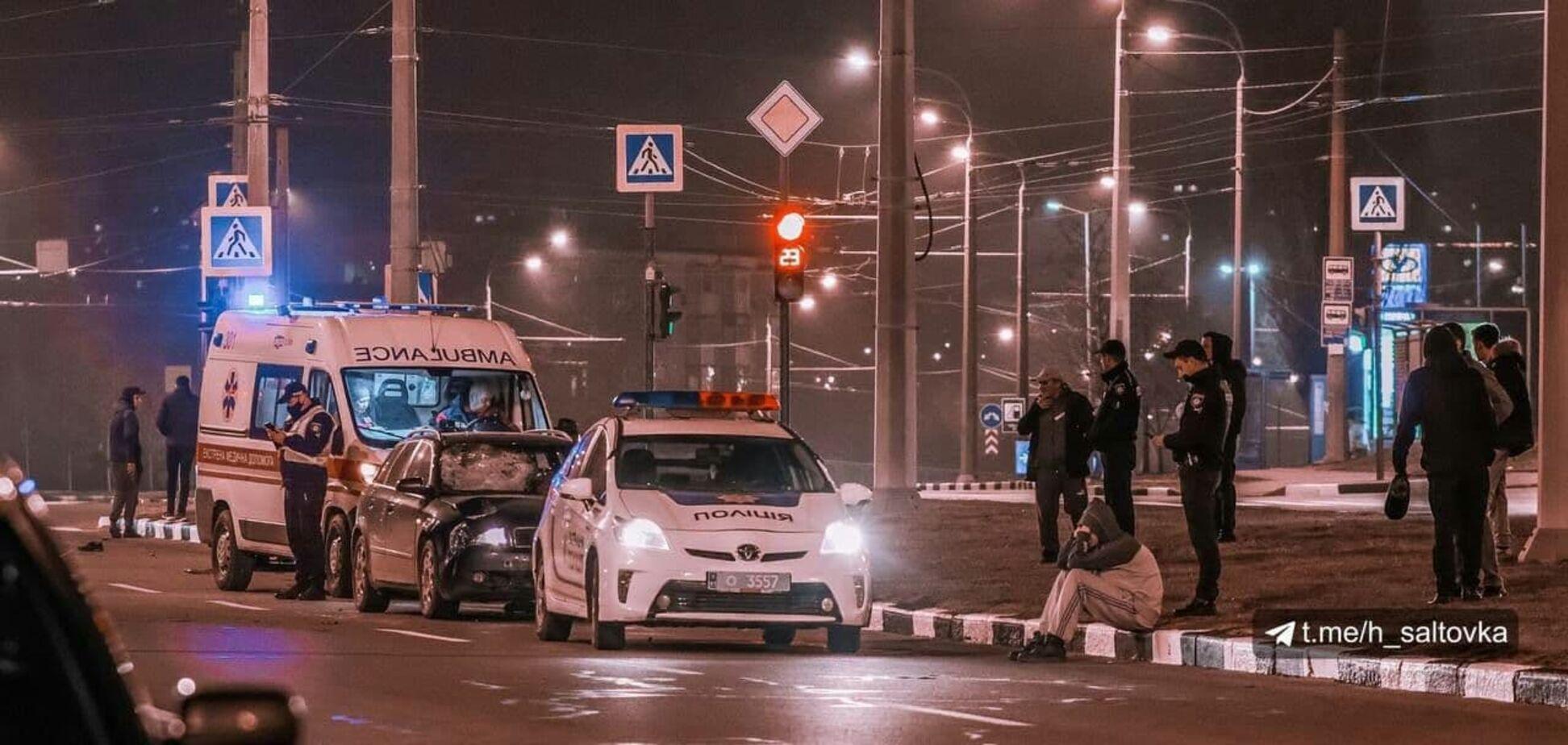 В Харькове на переходе насмерть сбили полицейского