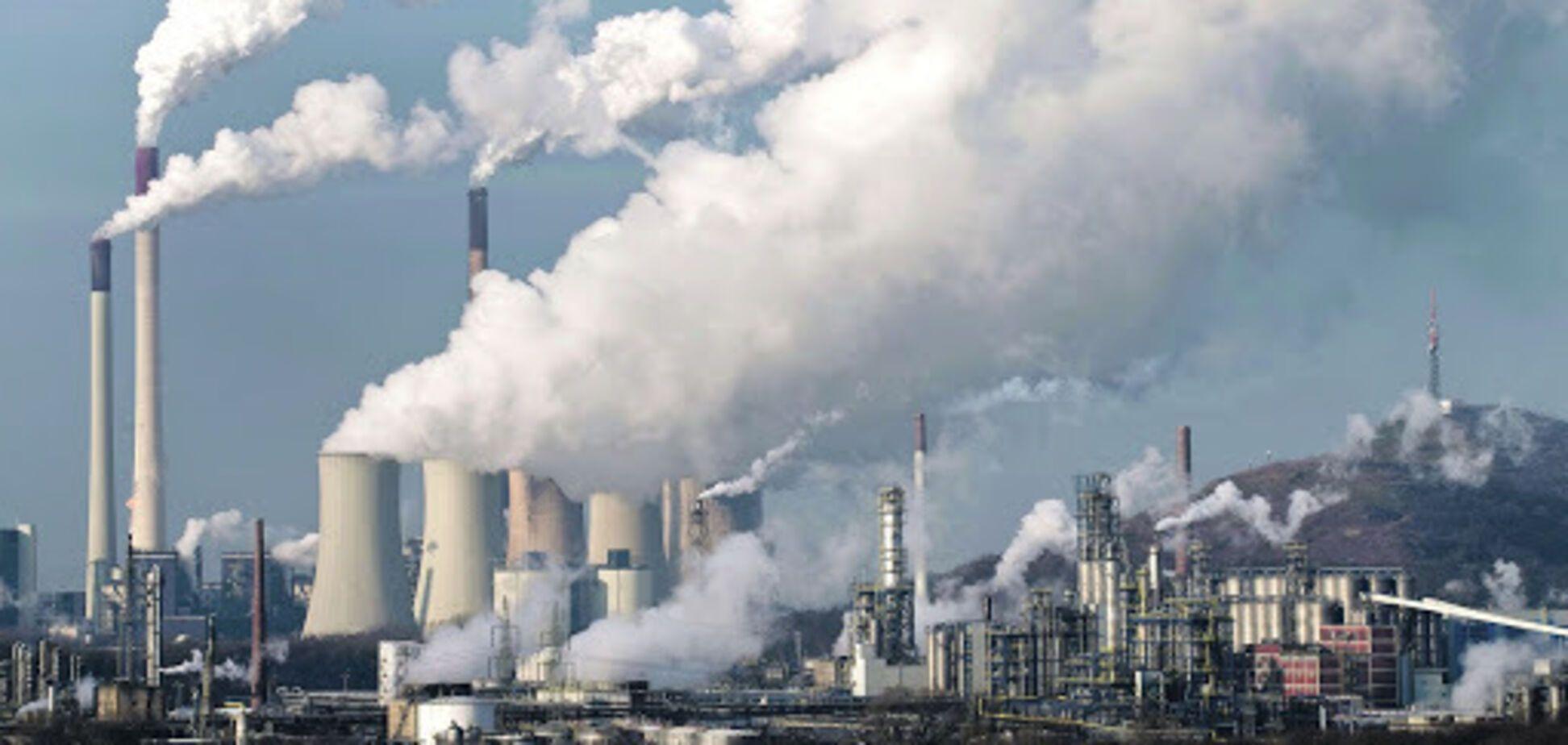Выбросы на угольных электростанциях