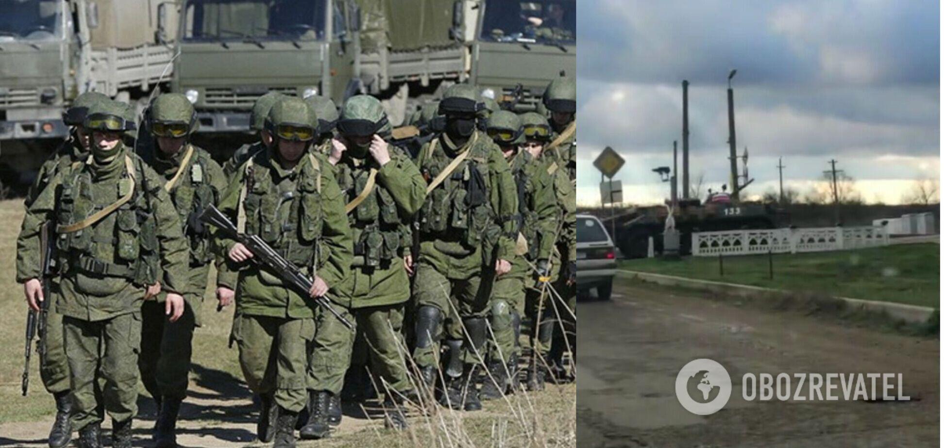 Российские военные в Приднестровье