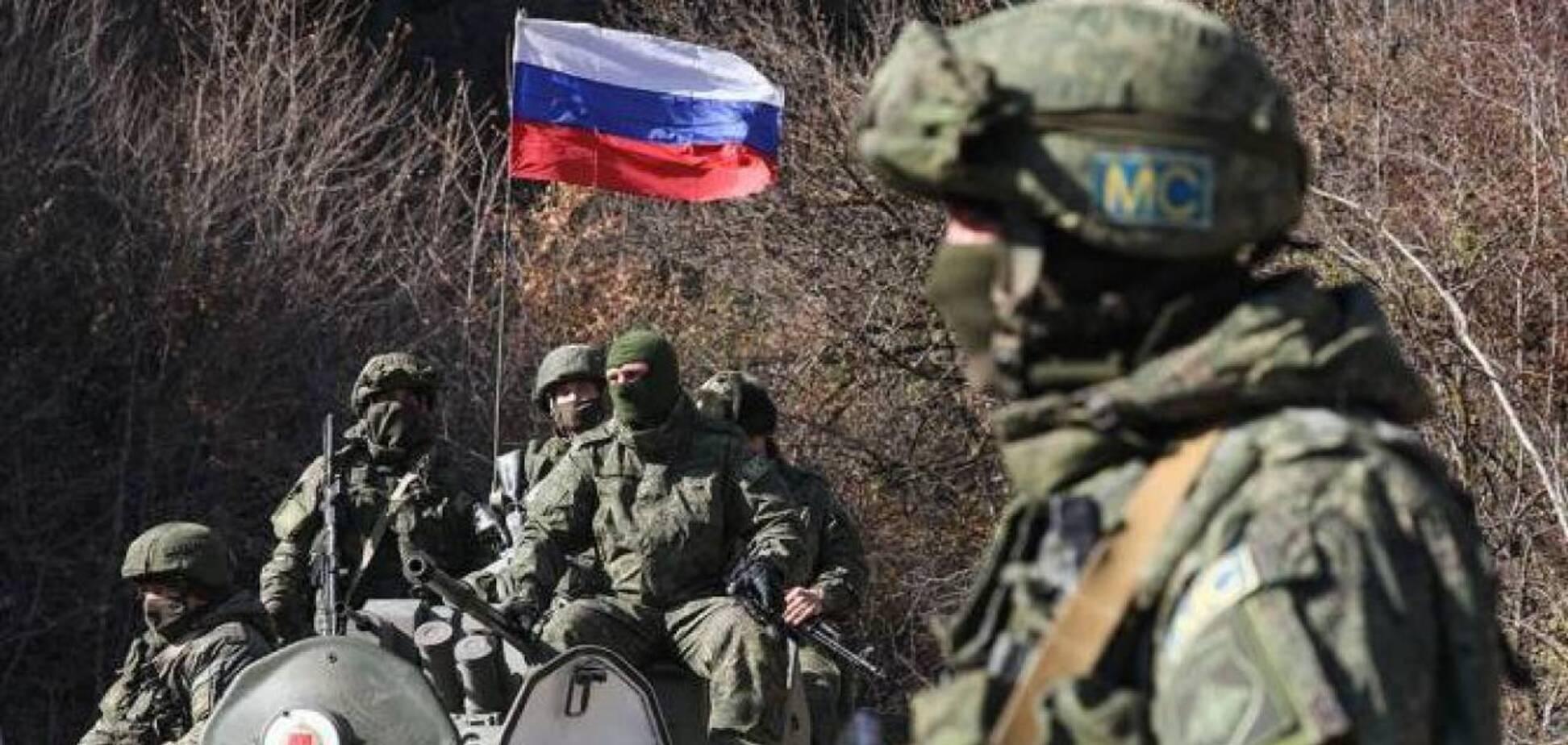 Россия стянула войска до границ с Украиной на Донбассе