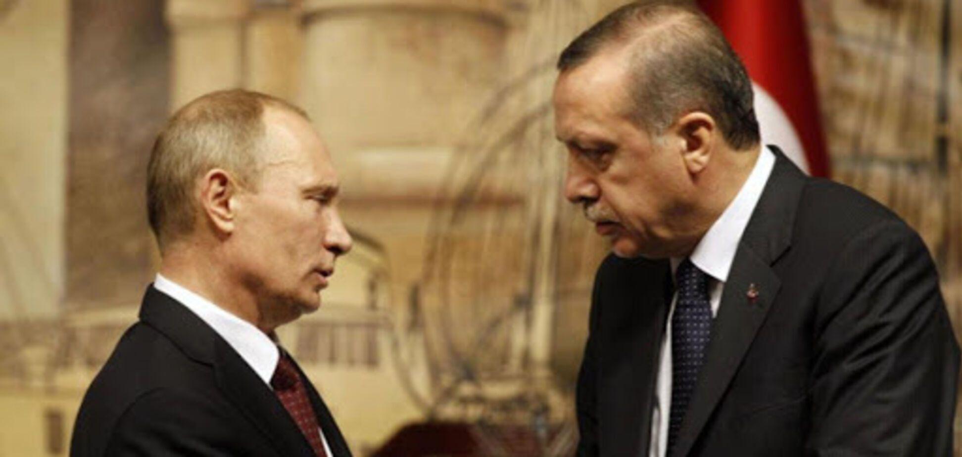 Ердоган попередив Путіна про те, що підтримає Україну з моря