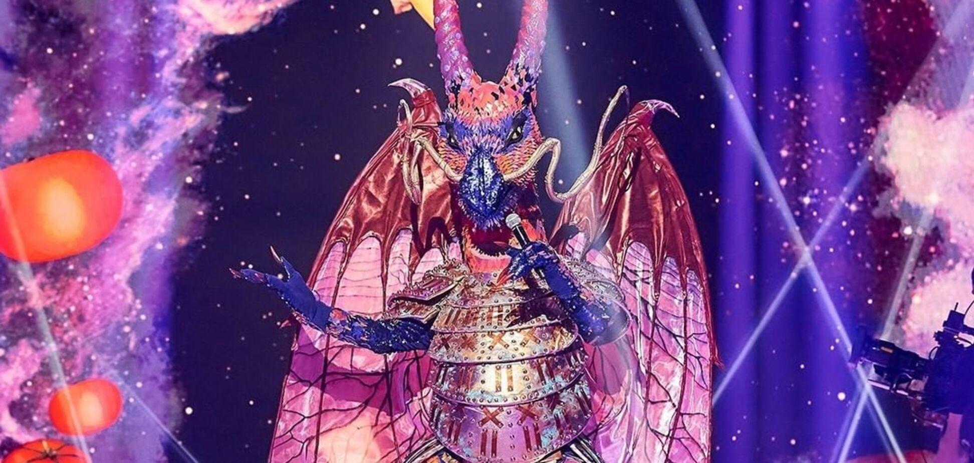 Кто скрывался за образом Дракона в шоу 'Маска'