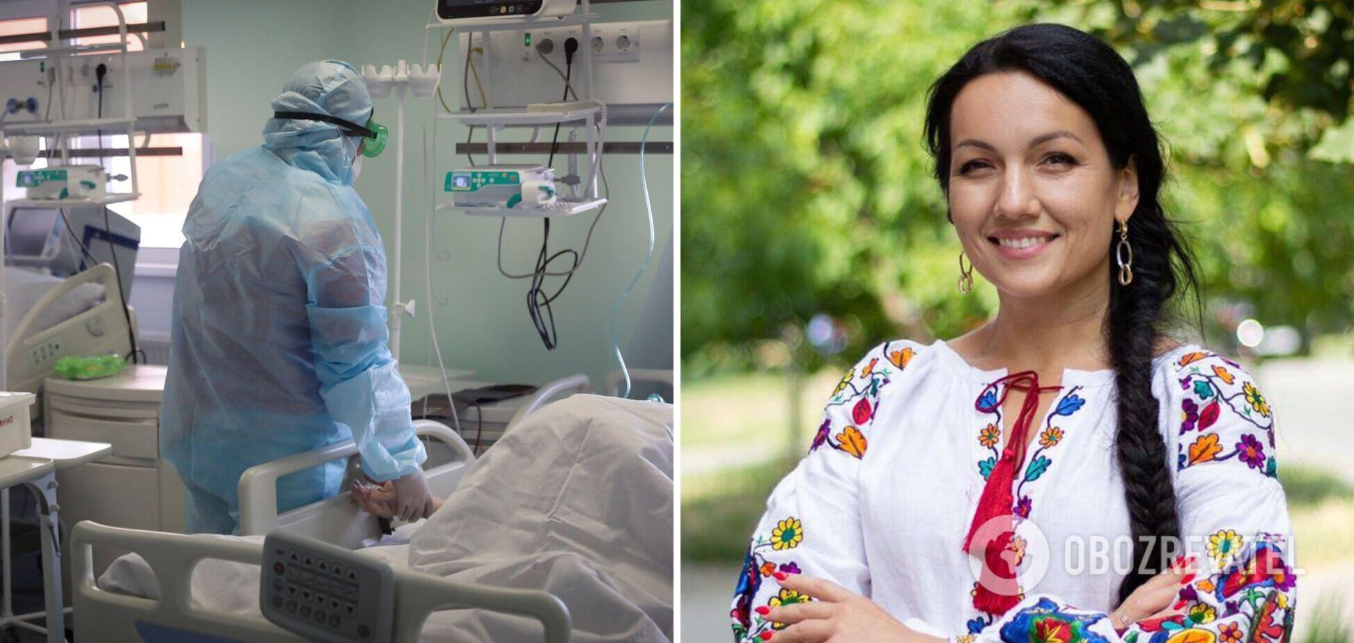 У Полтаві вагітну з COVID-19 терміново оперували, щоб врятувати дитину. Фото