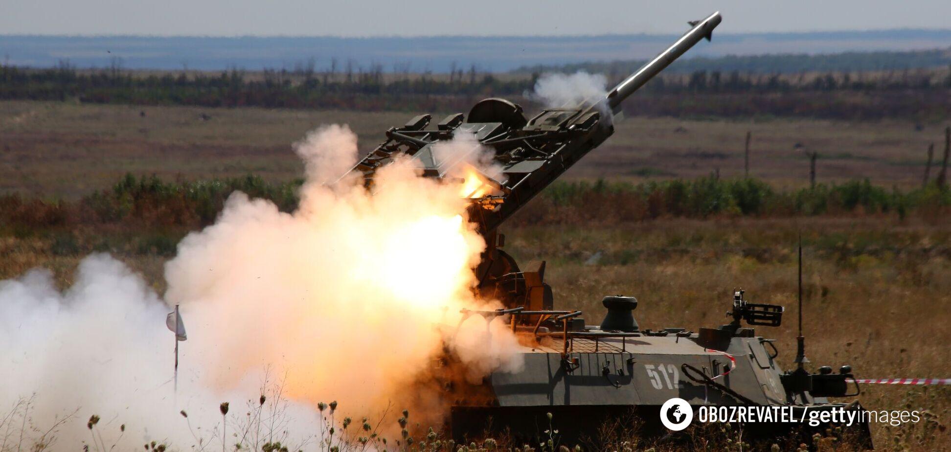 Оккупанты обстреляли позиции ВСУ на Донбассе с запрещенного оружия – штаб ООС