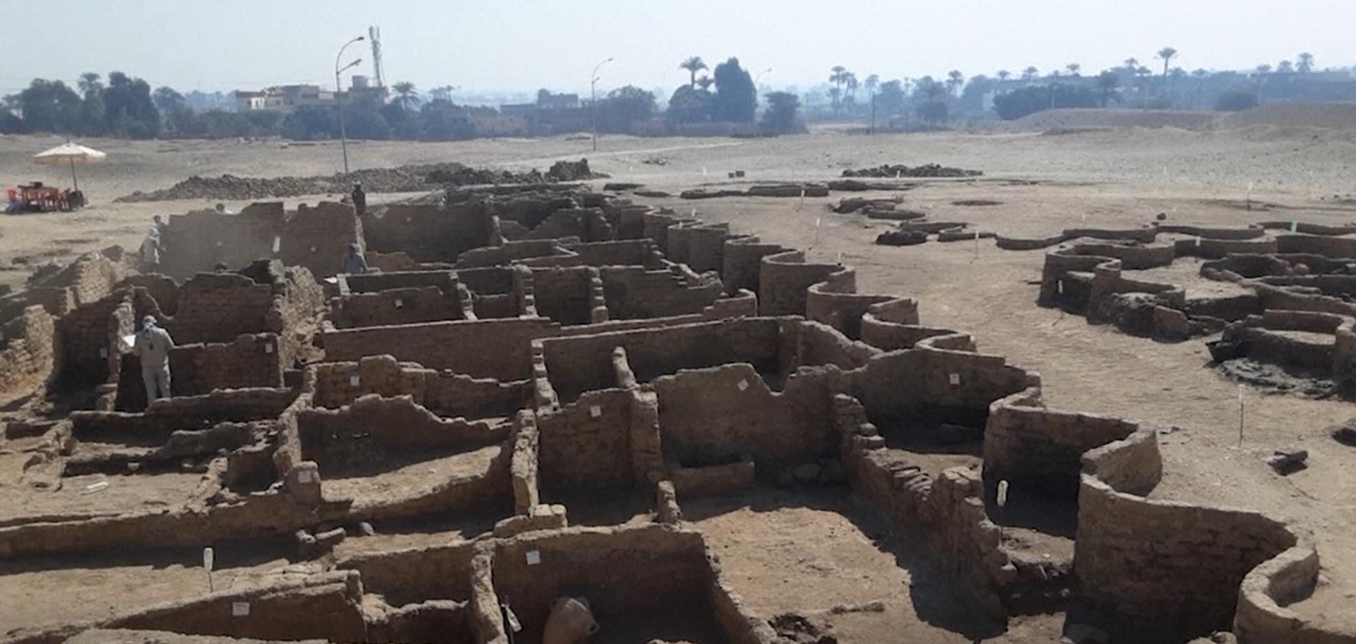 В Єгипті археологи знайшли 'золоте місто', якому 3 тис. років