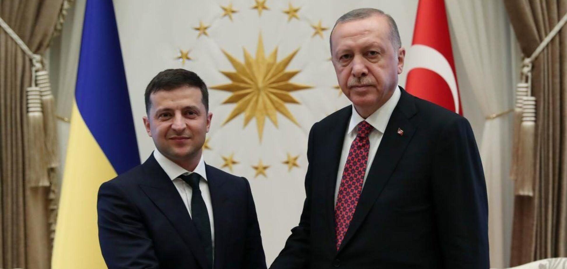 Эрдоган занял проукраинскую позицию в период обострения ситуации на Донбассе