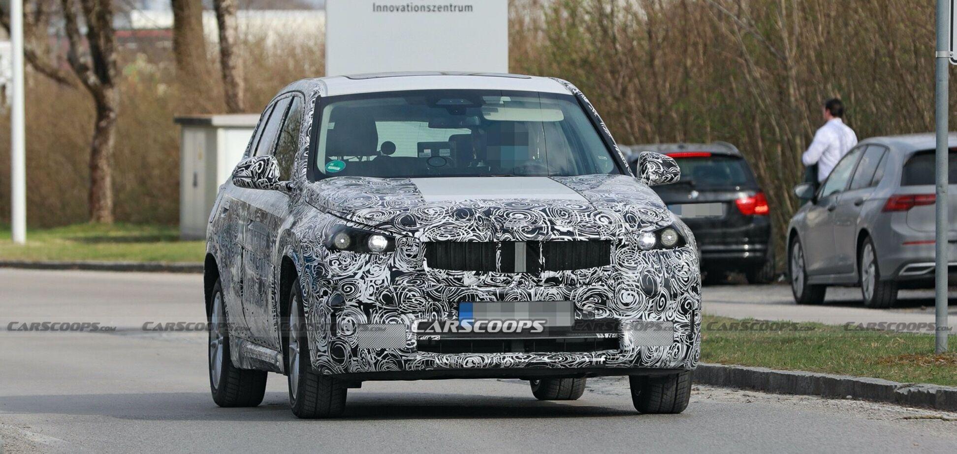 BMW iX1 поповнить сімейство електричних кросоверів