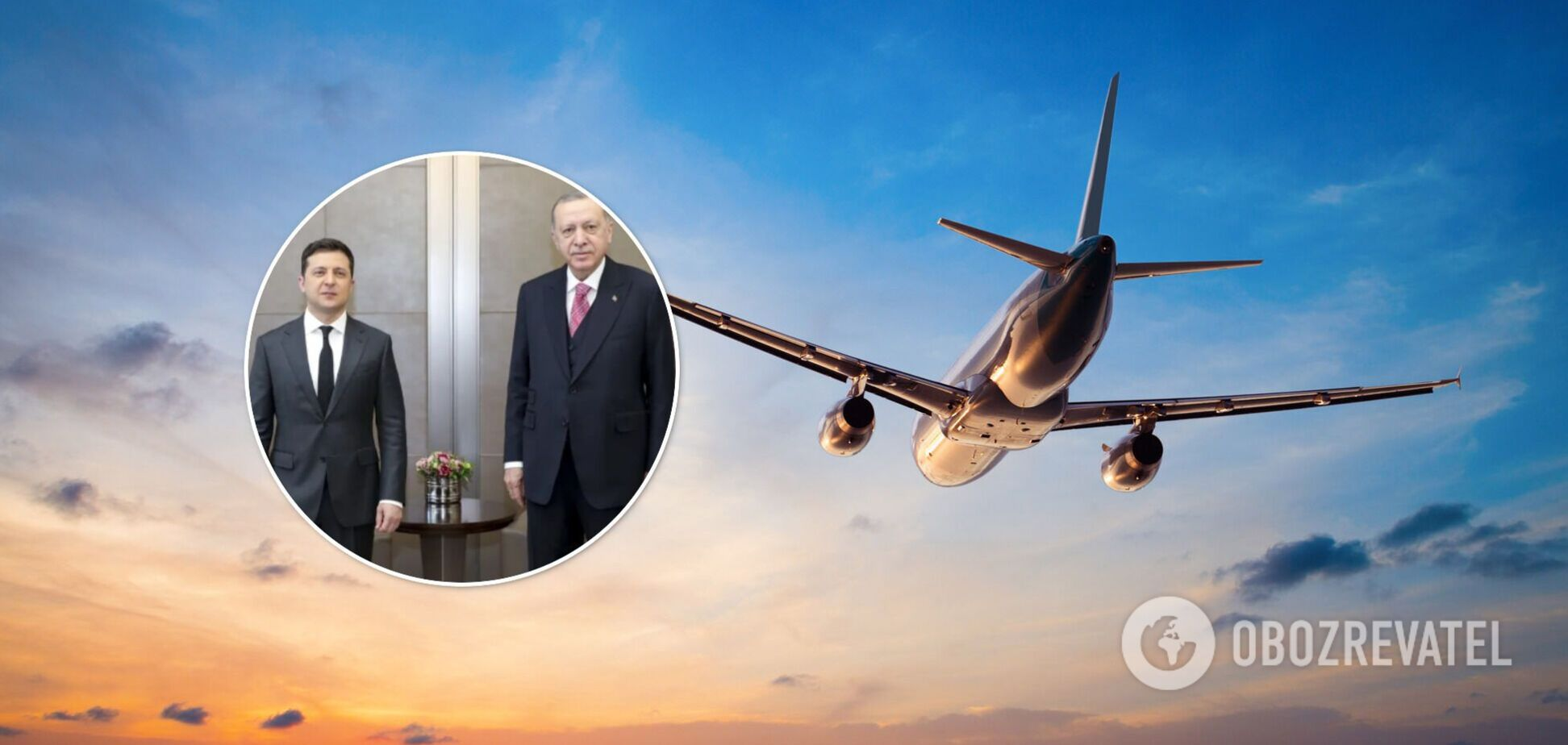 Россия после встречи Зеленского и Эрдогана ограничила перелеты с Турцией
