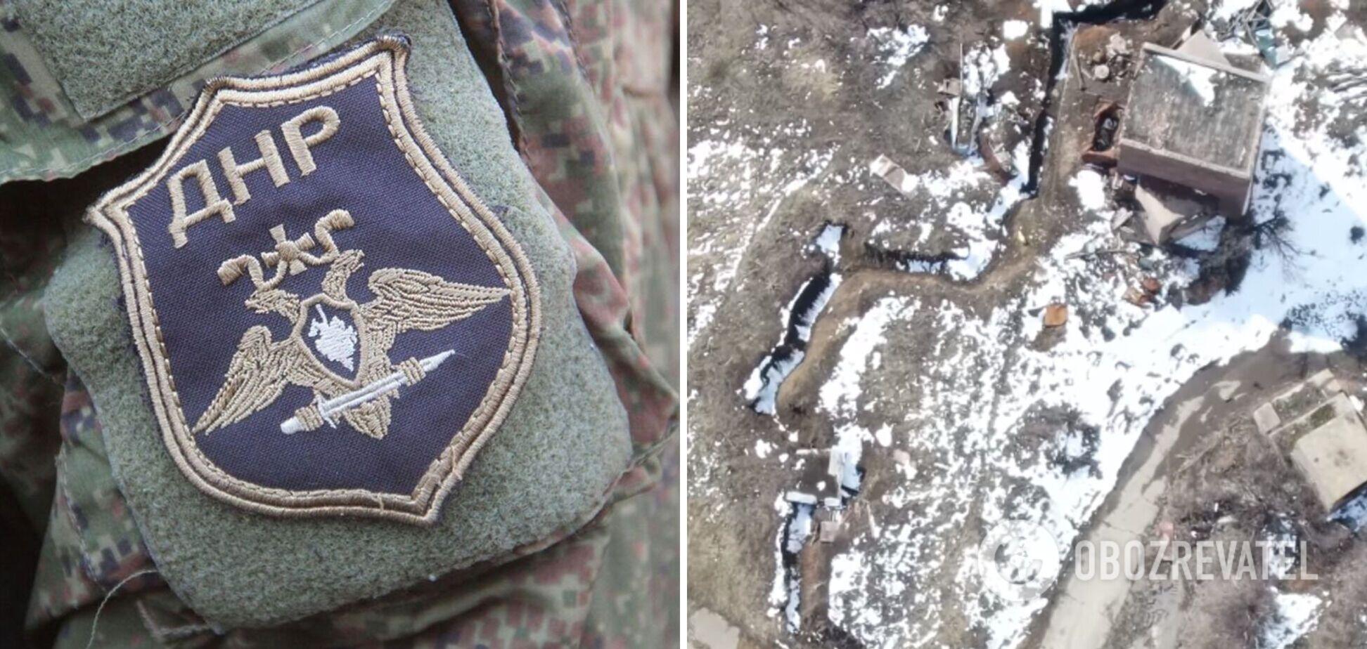 Снайперська точка терористів 'ДНР'