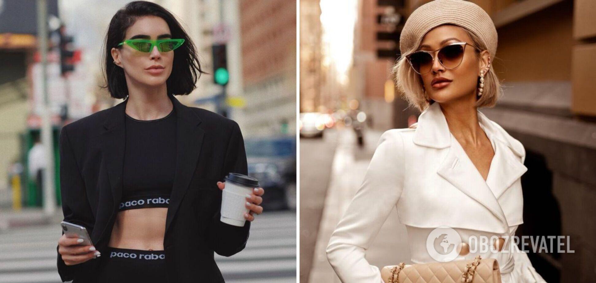 Модні сонцезахисні окуляри сезону весна-літо 2021