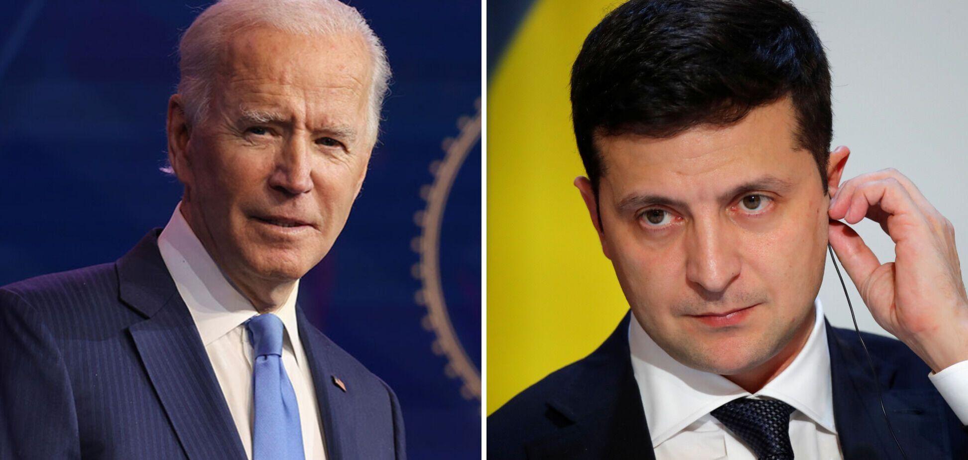 Зеленський захотів від Байдена дій та підтримки вступу України в НАТО