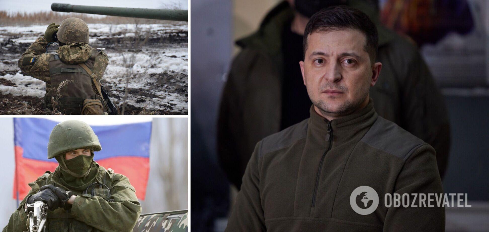 Зеленський заявив, що Україна готова до вторгнення Росії