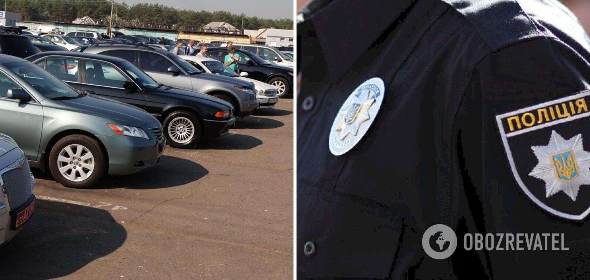 В Виннице разоблачили мужчину, который организовал аферу по присвоению чужих авто. Видео