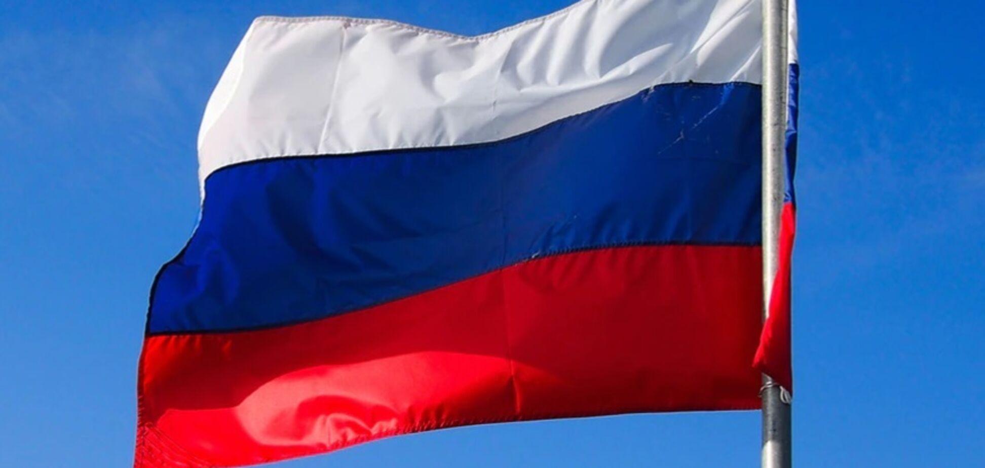 У Слов'янську на засідання міськради принесли російський прапор