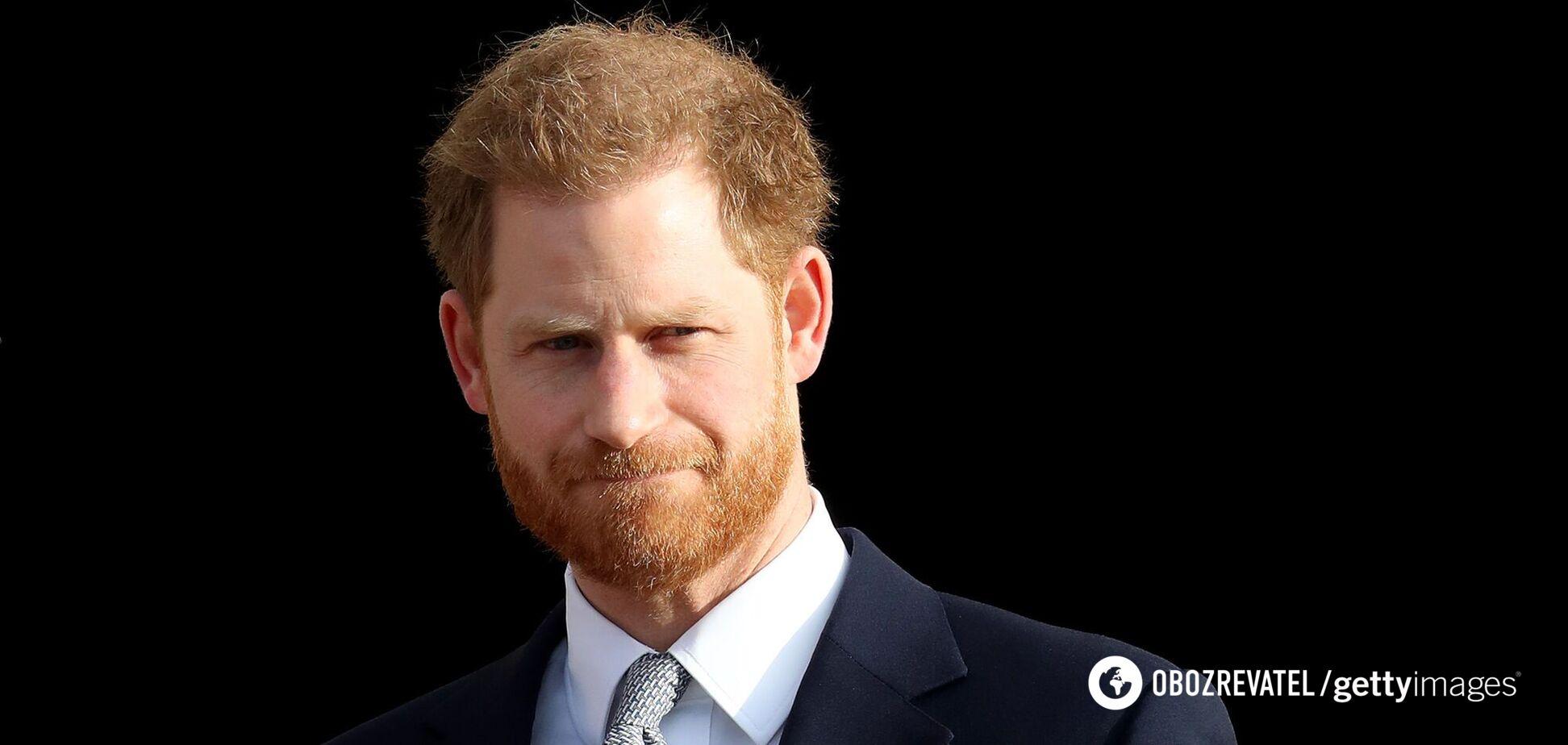 Принц Гаррі повернувся до Великобританії