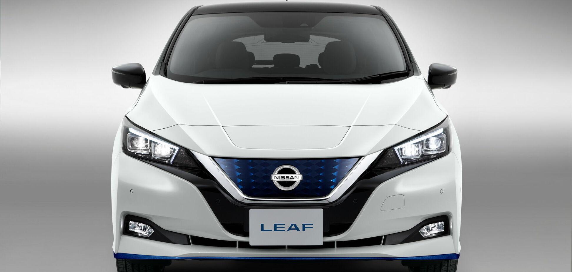 Электромобиль Nissan Leaf будет официально продаваться в Украине