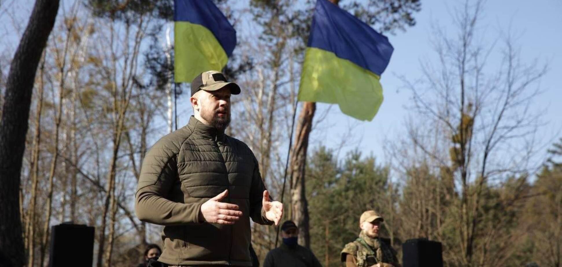 Билецкий показал, как проходят военно-патриотические учения