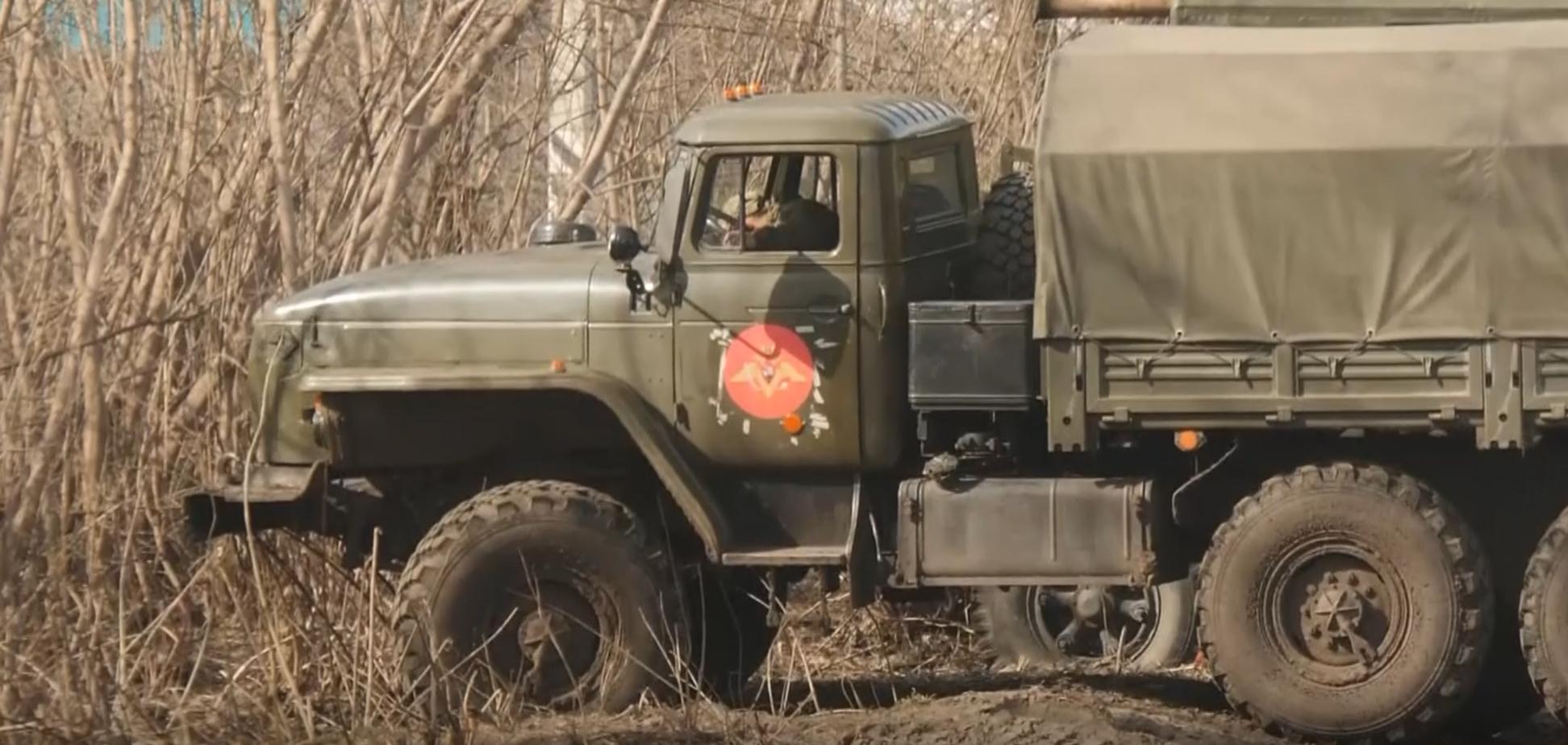 Войска РФ на границе с Украиной: журналисты показали полевой лагерь