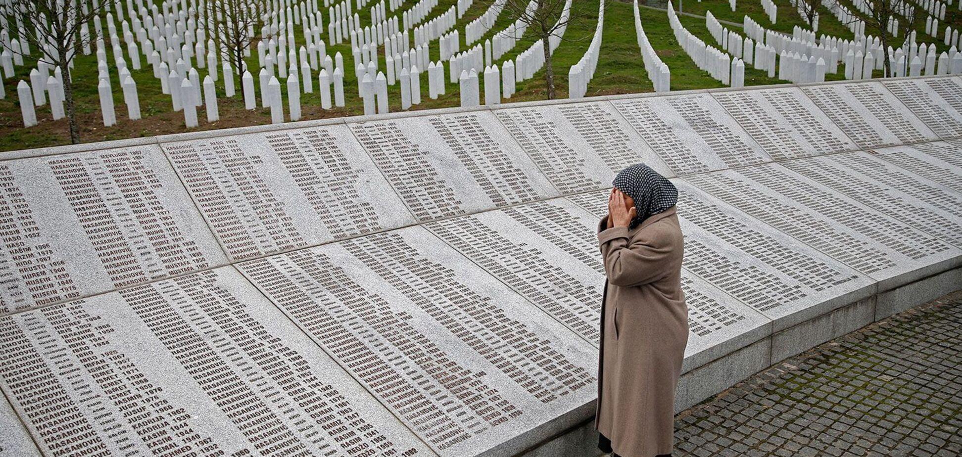 Москва і Сребрениця. Російські добровольці тоді вбивали мусульман Боснії, як зараз українців на Донбасі