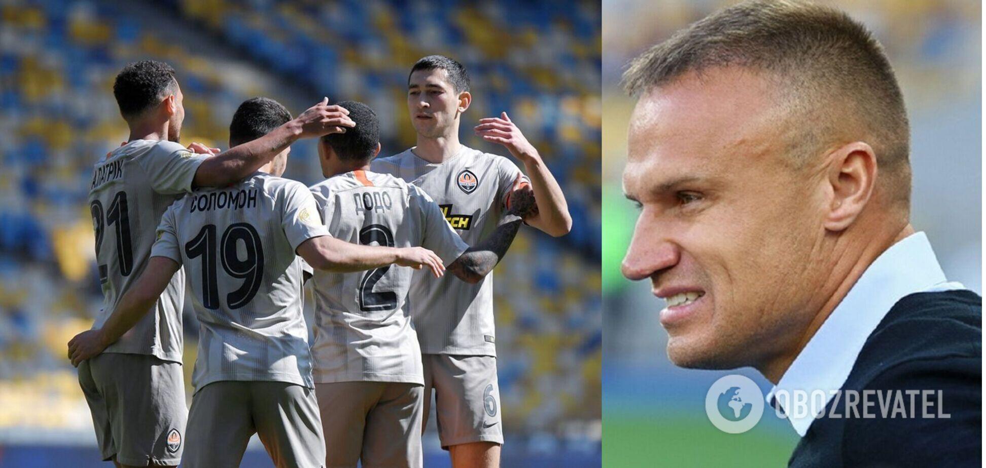Вячеслав Шевчук высказался о матче Мариуполь - Шахтер