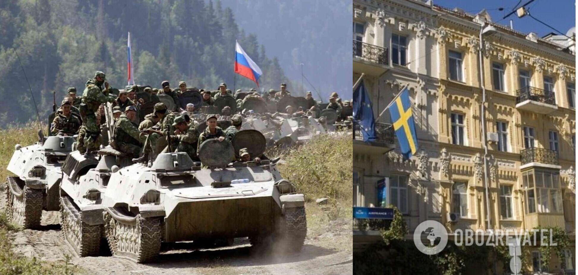 У Зеленского рассказали послу Швеции об удвоившихся войсках России на границе с Украиной
