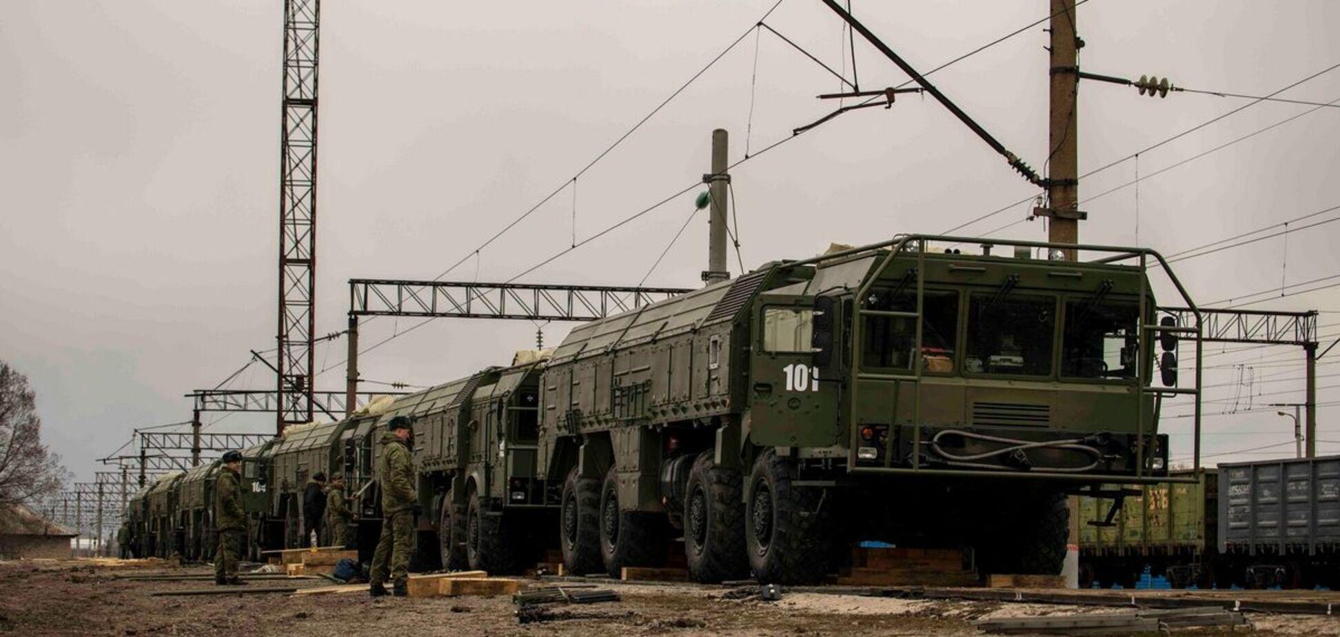 В Минобороны РФ подтвердили переброску 'Искандеров' к украинской границе