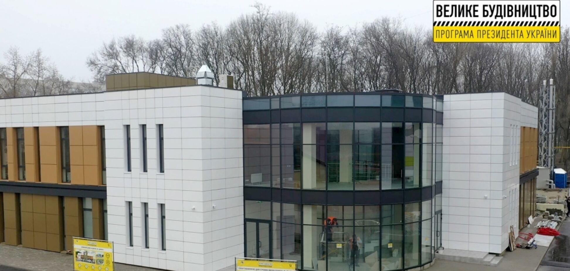 В Днепре завершили 'Большую стройку' Олимпийского дома для спортсменов