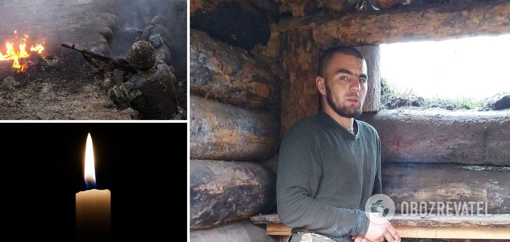 Снайпер РФ убил молодого бойца с Буковины: рвался на фронт с 18 лет, успел жениться и стать отцом