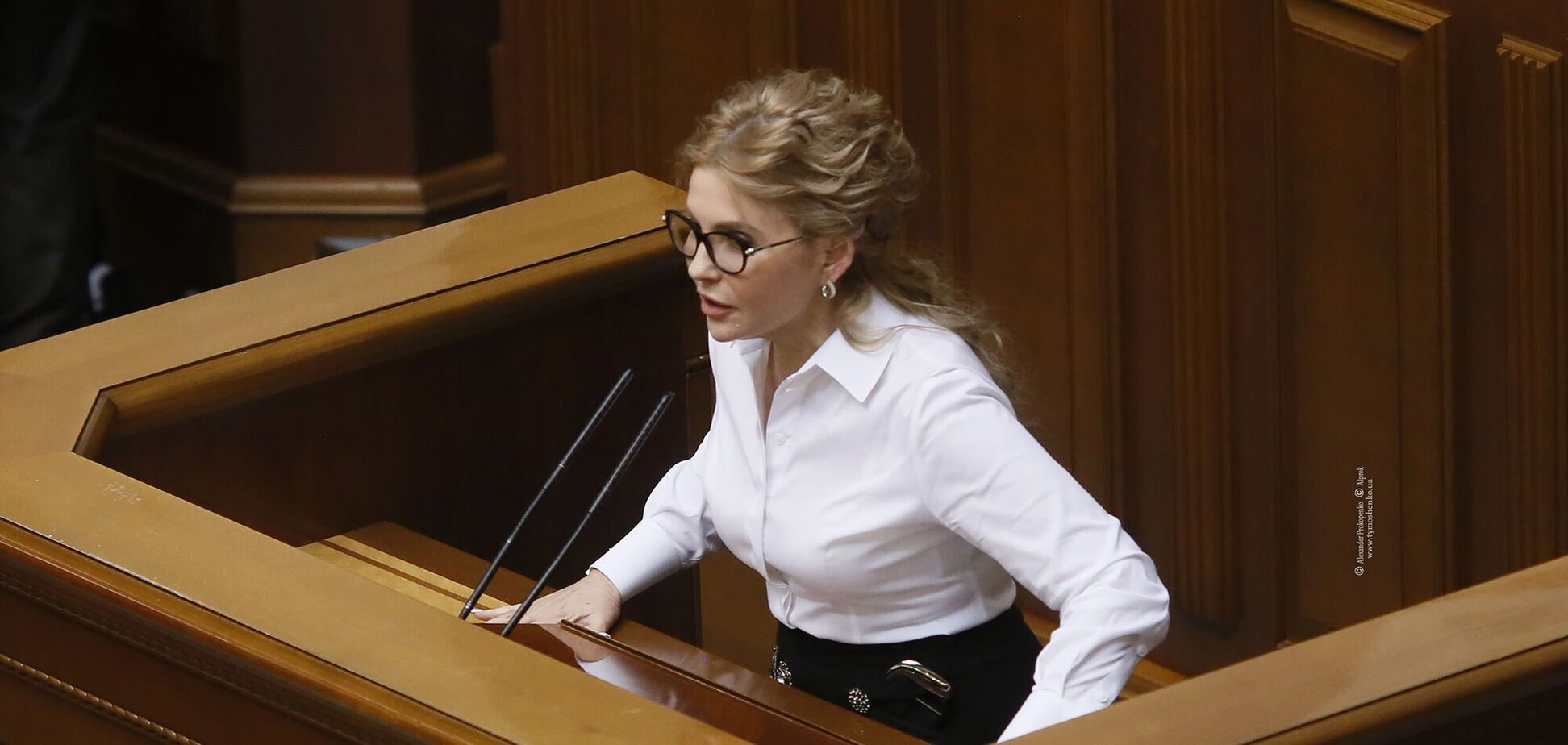 Тимошенко: ситуація в Україні зміниться, коли до влади прийдуть професіонали