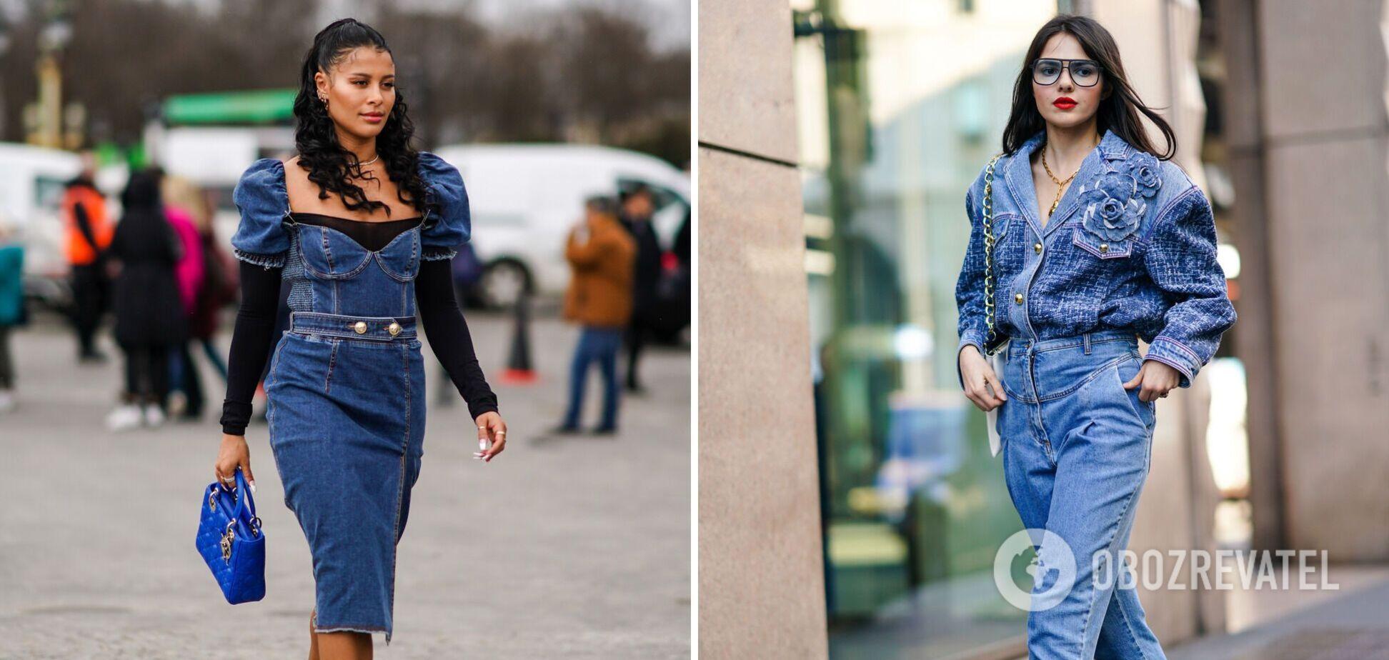 Модная джинсовая одежда 2021
