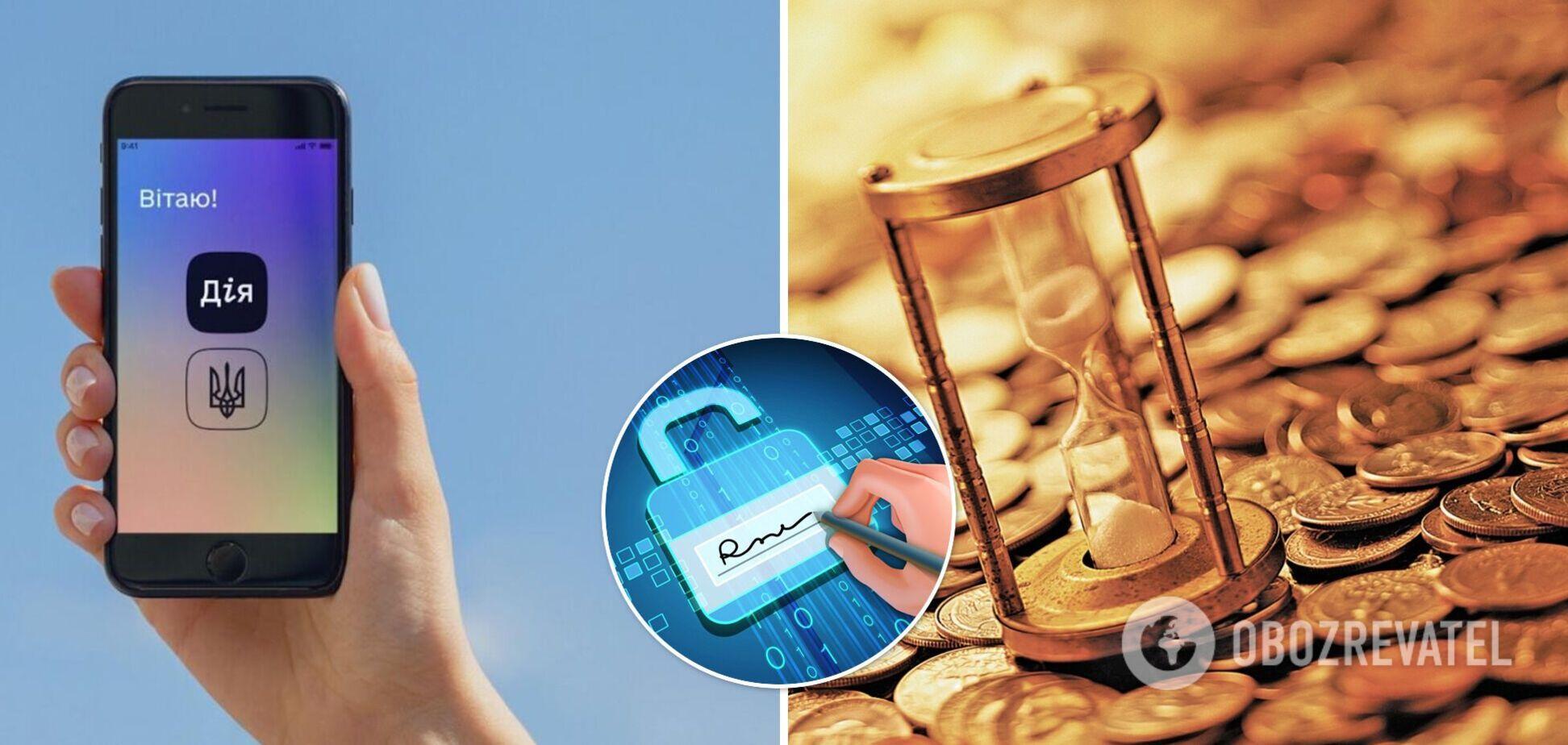Электронная подпись и уплата налогов в смартфоне: какие новые услуги для бизнеса появятся в Дії