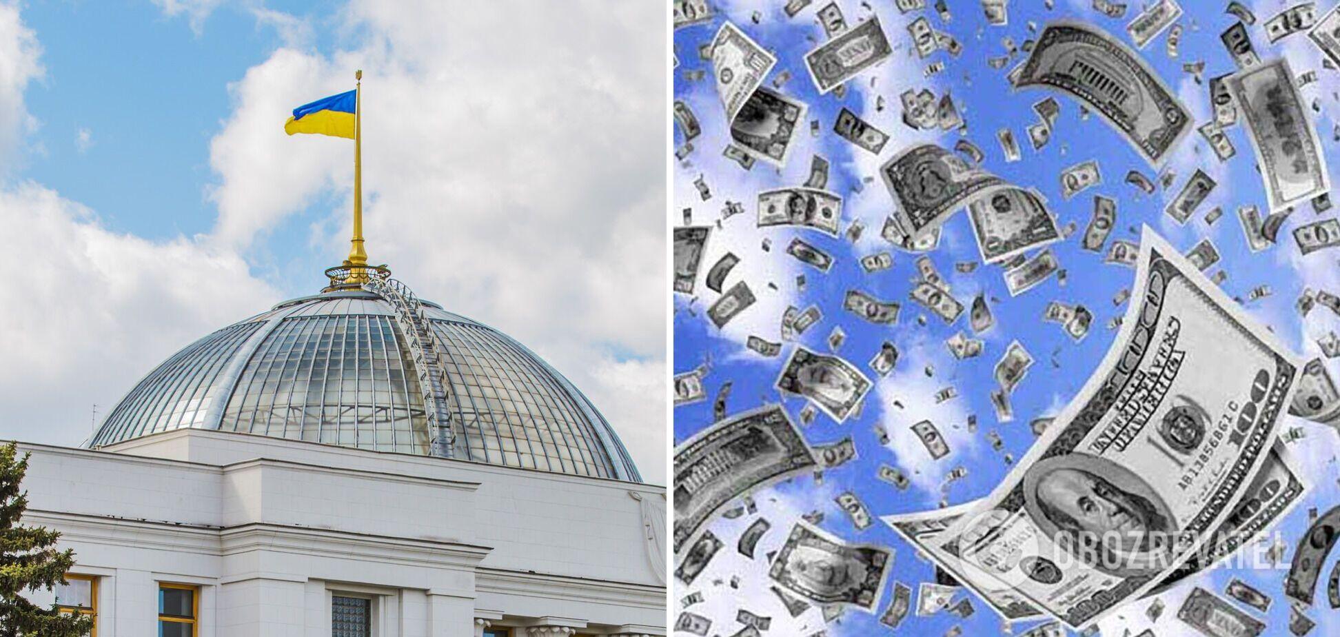 О космических запасах кэша у украинских политиков