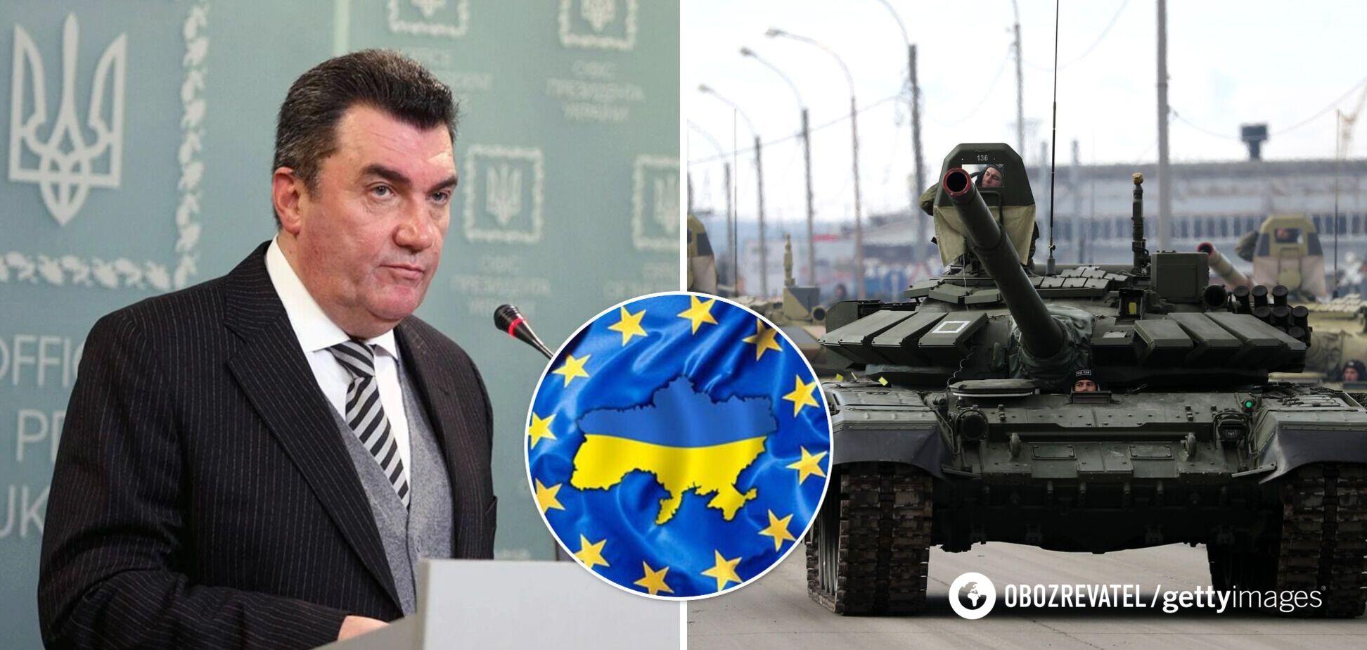 Данілов: Україна не планує повертати Донбас силою, але свої землі не віддамо