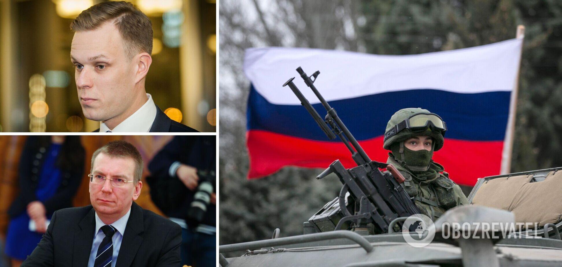 Главы МИД Литвы и Латвии приедут в Киев из-за скопления войск РФ возле украинской границы