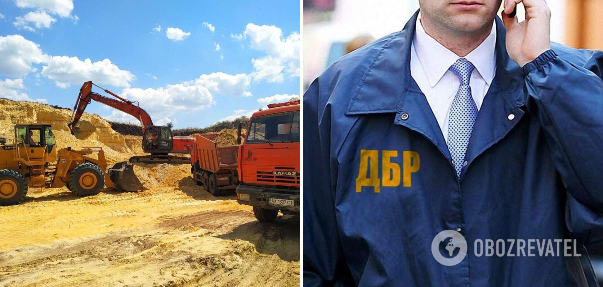 На Львівщині через недбалість чиновника незаконно видобули піску на 24 млн